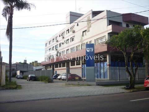 Conjunto Comercial para locacao no Reboucas em Curitiba com 120m² por R$ 2.640,00