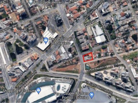 Terreno para venda no Portao em Curitiba com 607m² por R$ 1.400.000,00