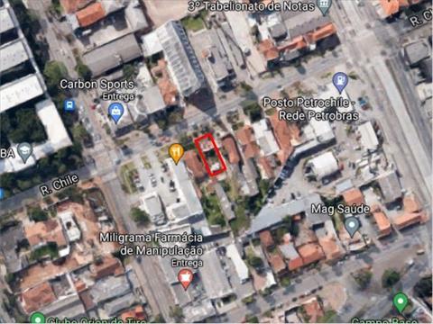 Terreno para venda no Reboucas em Curitiba com 586m² por R$ 1.900.000,00