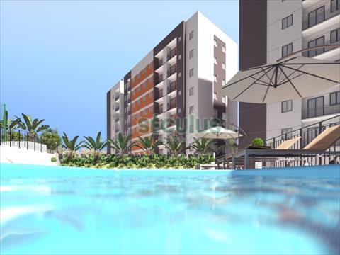 Apartamento para venda no Ilha da Figueira em Jaragua do Sul com 48m² por R$ 170.000,00