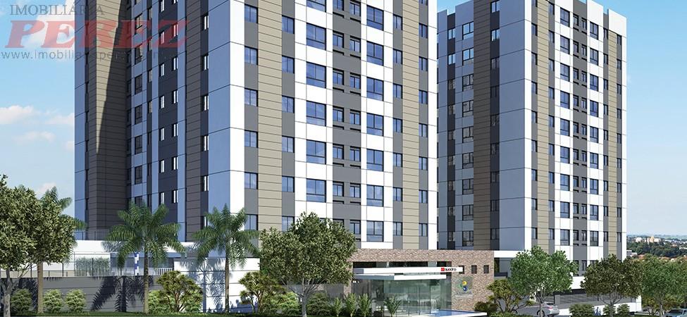 13650.6183, Apartamento de 2 quartos, 55 m² no condomínio Aquabrasil Residence E Resort para lançamento no Vila Brasil - Londrina/PR