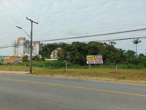 Terreno para locacao no Atiradores em Joinville com 3,087m² por R$ 10.000,00