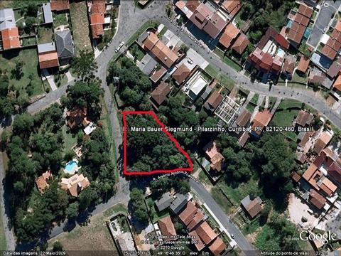 Terreno para venda no Pilarzinho em Curitiba com 1,224m² por R$ 830.000,00