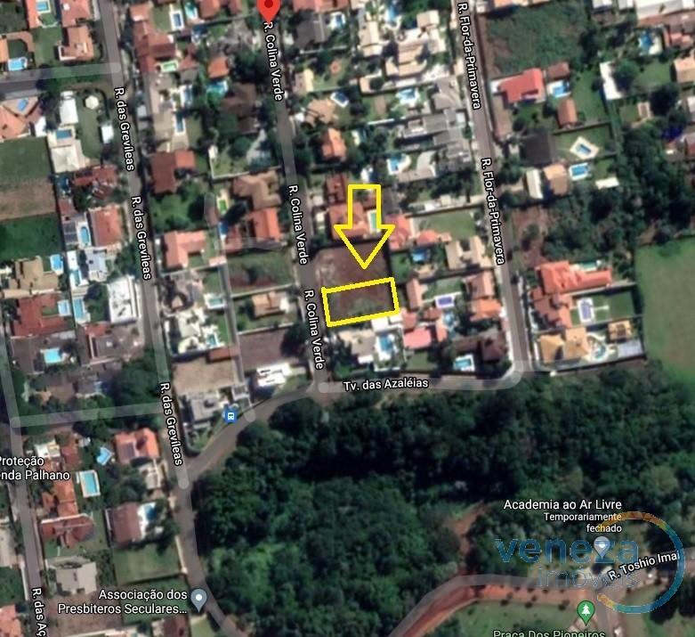 Terreno para venda no Colina Verde Leste em Londrina com 1,000m² por R$ 790.000,00