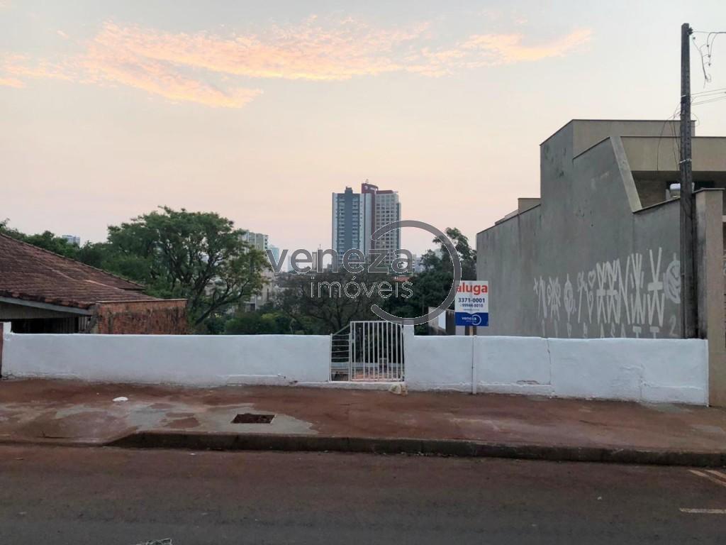 Terreno para locacao no Ipiranga em Londrina com 550m² por R$ 1.625,00