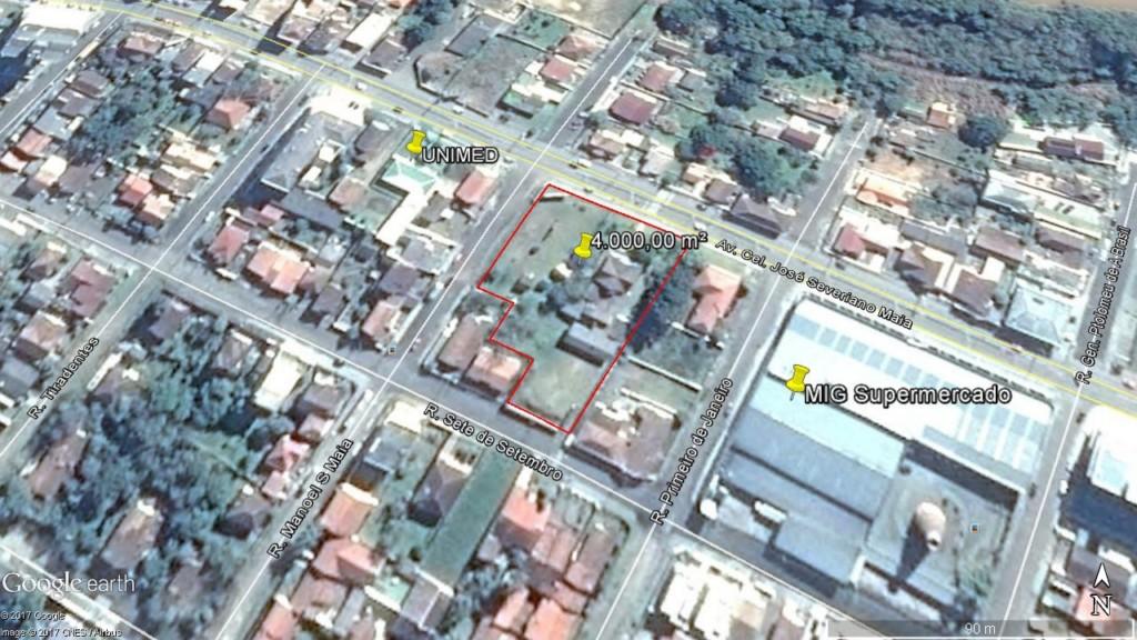 Casa Comercial para locacao no Buenos Aires em Mafra com 4.000m² por R$ 8.400,00