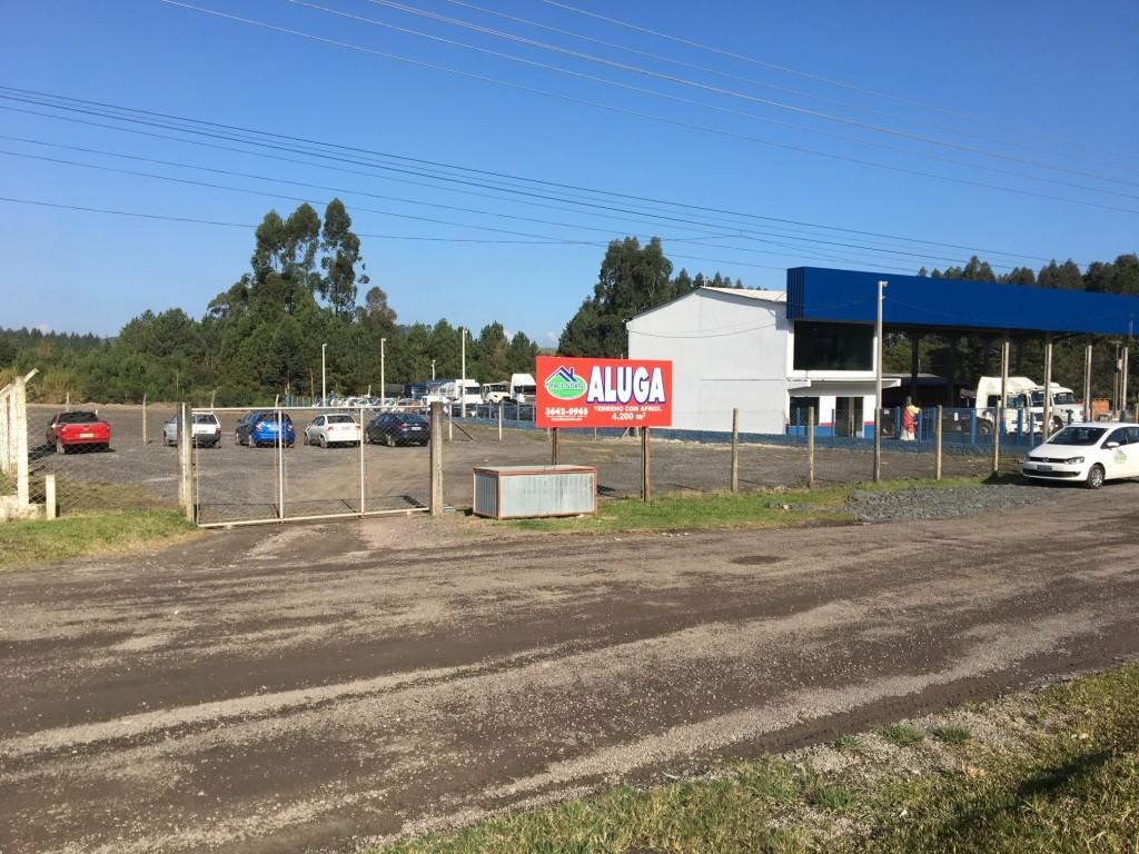 Terreno para locacao no Autodromo em Mafra com 4.200m² por R$ 3.600,00